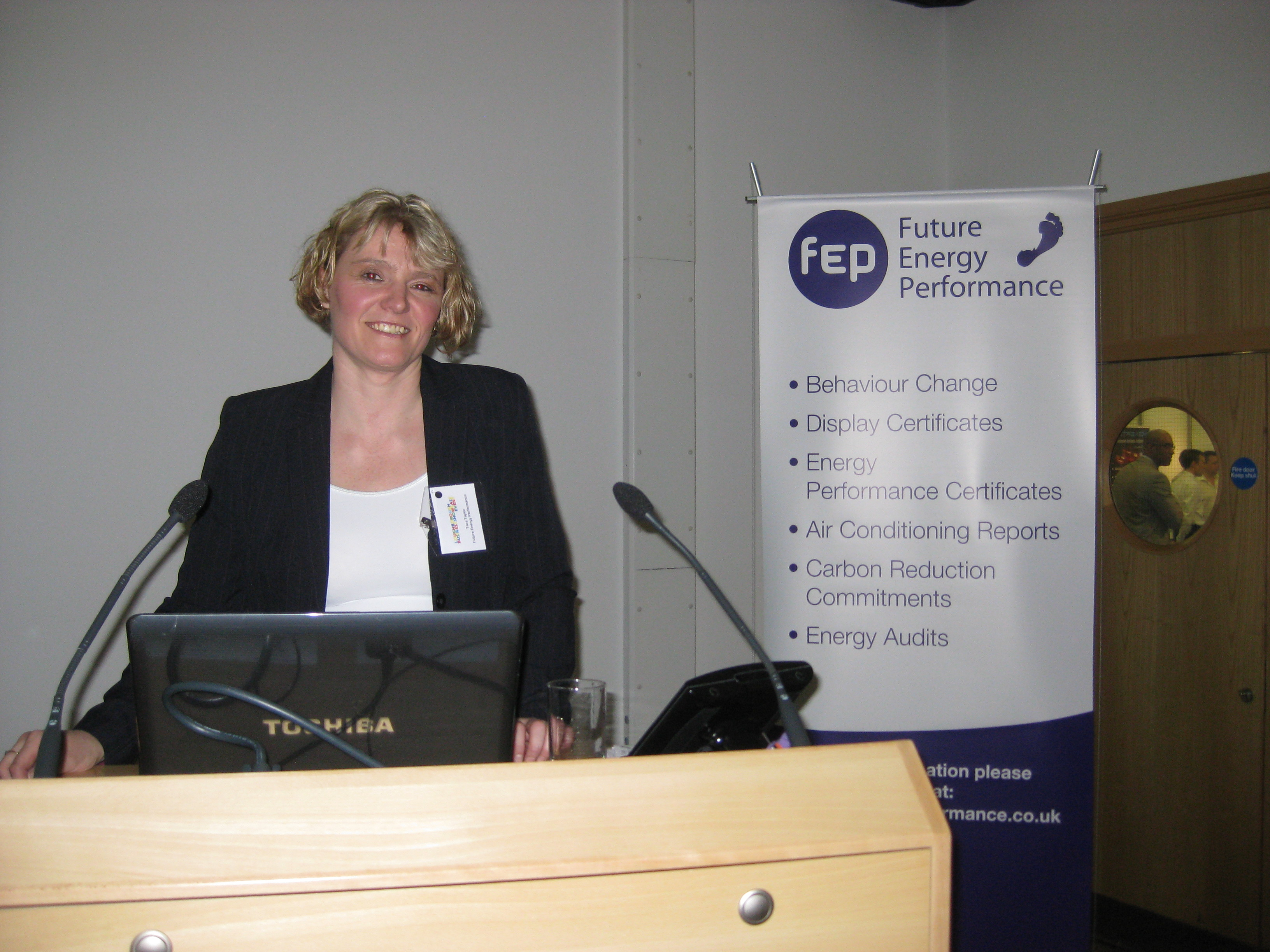 Tara Taylor of Future Energy Performance gave a fascinating talk on The Future of Energy Performance In Buildings